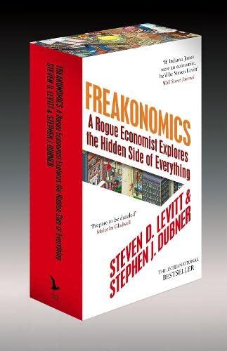 9781846145643: Freakonomics: A Rogue Economist Explores the Hidden Side of Everything