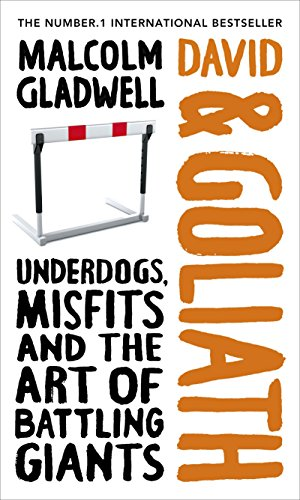 David And Goliath: Underdogs, Misfits And The Art Of Battling Giants ( SCARCE HARDBACK BRITISH FI...
