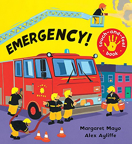 9781846167614: Emergency!: Touch-and-Feel Book (Awesome Engines)