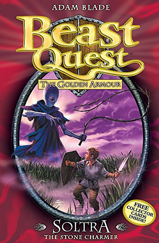 9781846169908: Beast Quest: 9: Soltra the Stone Charmer: The Golden Armour