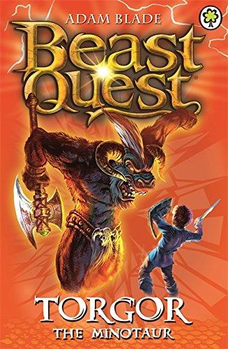 9781846169977: Torgor the Minotaur (Beast Quest - The Dark Realm): Series 3 Book 1