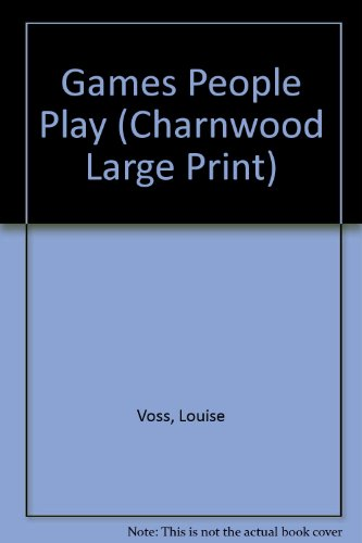 9781846172014: Games People Play (Charnwood Large Print)