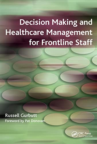9781846190483: Decision Making and Healthcare Management for Frontline Staff: v. 2, Diagnosis