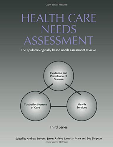 9781846190636: Health Care Needs Assessment: The Epidemiologically Based Needs Assessment Reviews, v. 2, First Series