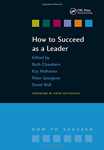 9781846191602: How to Succeed as a Leader
