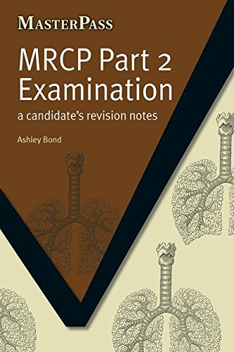 9781846195181: MRCP Part 2 Examination: A Candidate's Revision Notes (MasterPass)