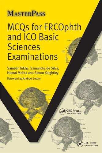 9781846195464: MCQs for FRCOphth and ICO Basic Sciences Examinations (Masterpass)