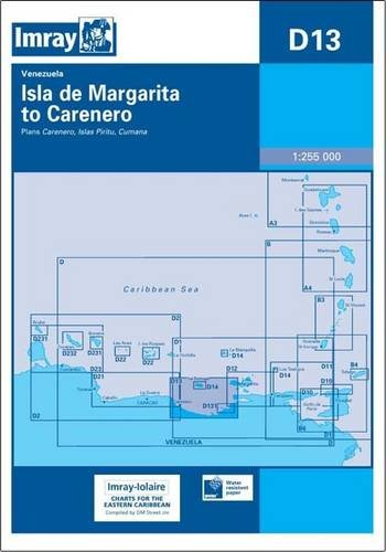 Imary Iolaire Chart D13 2007: Isla De Margarita to Carenero (Imray D Chart): Imray