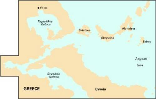 9781846231742: Imray Chart G25: N Sporades and Nisos Evvoia