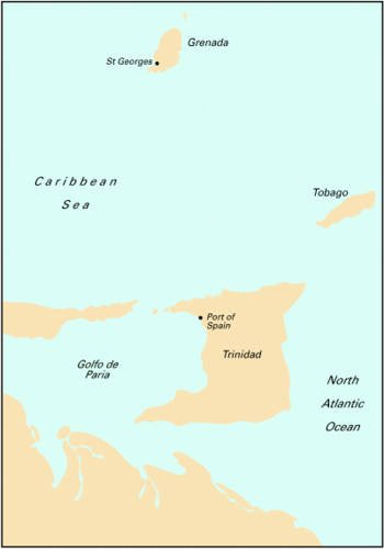 9781846232305: Imray Iolaire Chart B6: Trinidad and Tobago