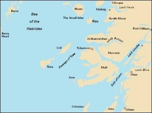 9781846232435: Imray Chart C65: Crinan to Mallaig and Barra