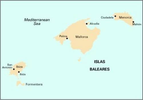 9781846232893: Imray Chart M3: Islas Baleares