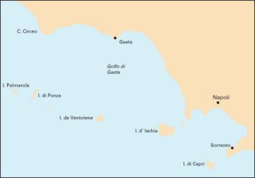 M46 Isole Pontine To Bay Of Naples