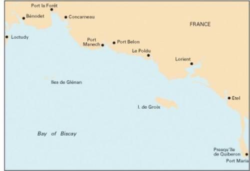 9781846233128: Imray Chart C38: Anse De Benodet to Presqu'ile De Quiberon