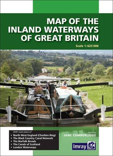 9781846235238: Map of the Inland Waterways of Great Britain