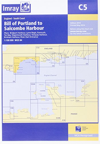 C5 Portland Bill to Salcombe Harbour: Imray