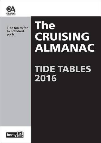 9781846236488: Cruising Almanac Tide Tables 2016