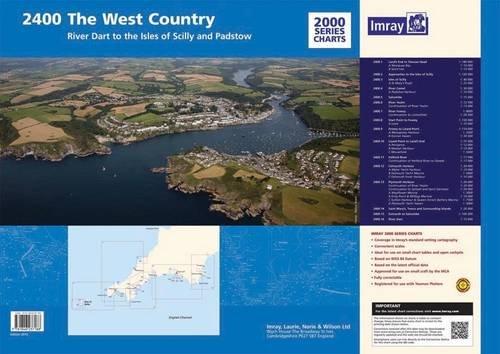 Imray Chart Pack 2400: West Country Chart Pack (2000 Series): Imray