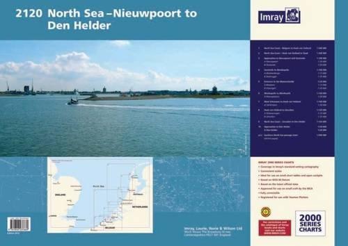 2120 Imray Chart Atlas: North Sea - Nieuwpoort to den Helder (Including North Sea Passage): Imray