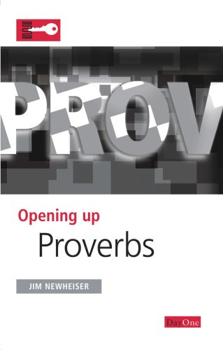 9781846251108: Opening up Proverbs (Opening Up the Bible)