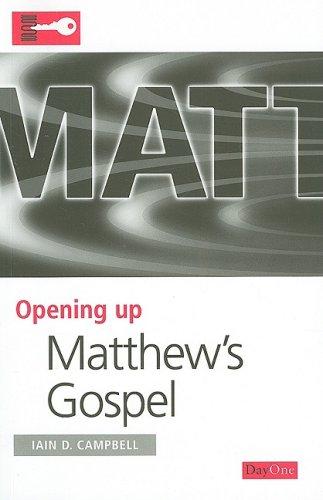 9781846251160: Matthew's Gospel (Opening Up)