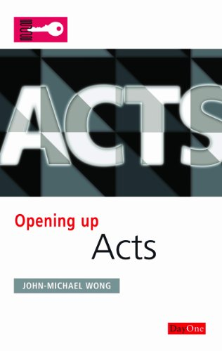 9781846251931: Acts (Opening Up the Bible)