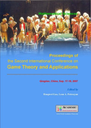 9781846261664: Proceedings of the Second Conference on Game Theory and Applications