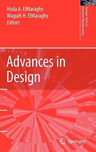 9781846280047: Advances in Design (Springer Series in Advanced Manufacturing)