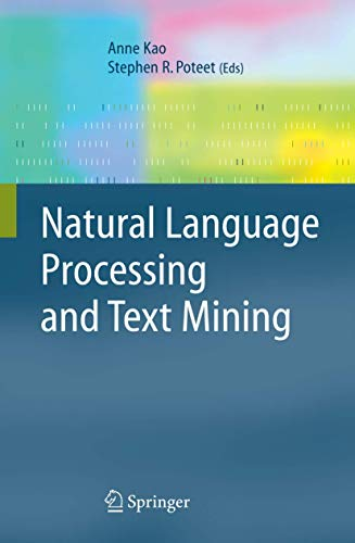 9781846281754: Natural Language Processing and Text Mining