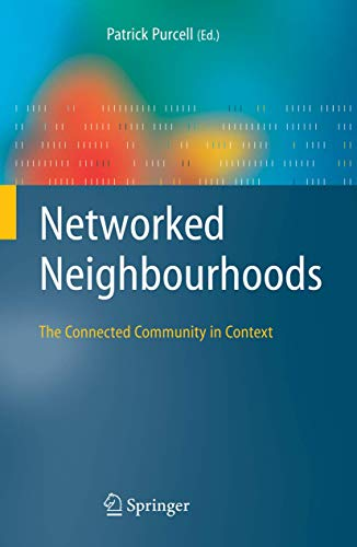 9781846282676: Networked Neighbourhoods: The Connected Community in Context