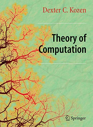 9781846282973: Theory of Computation (Texts in Computer Science)