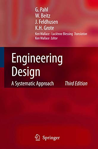 9781846283185: Engineering Design: A Systematic Approach