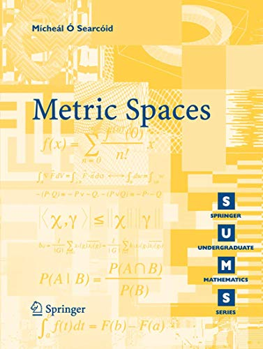 9781846283697: Metric Spaces (Springer Undergraduate Mathematics Series)