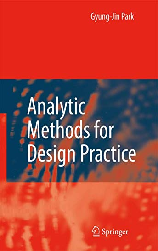 9781846284724: Analytic Methods for Design Practice