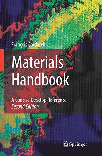 9781846286681: Materials Handbook: A Concise Desktop Reference