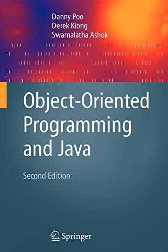 9781846289620: Object-Oriented Programming and Java