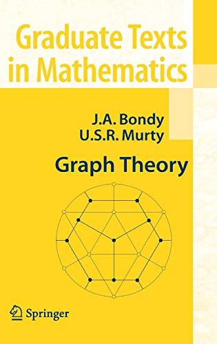 9781846289699: Graph Theory (Graduate Texts in Mathematics)