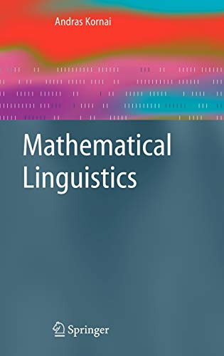 9781846289859: Mathematical Linguistics (Advanced Information and Knowledge Processing)