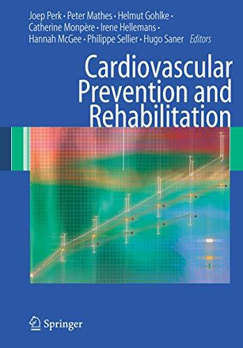 9781846289934: Cardiovascular Prevention and Rehabilitation