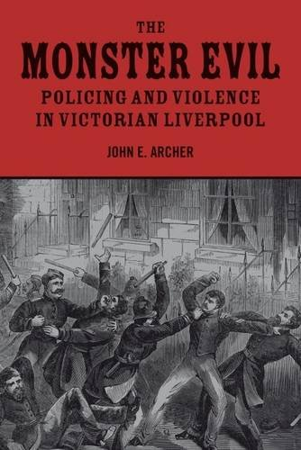 9781846316838: The Monster Evil: Policing and Violence in Victorian Liverpool