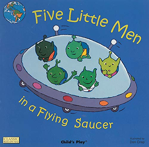 9781846430077: Five Little Men in a Flying Saucer: Giant Edition (Classic Books With Holes)