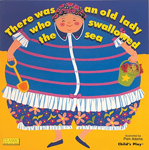 9781846430732: There Was an Old Lady Who Swallowed the Sea (Classic Books with Holes Board Book)