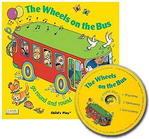 9781846431029: The Wheels on the Bus Go Round and Round (Classic Books with Holes)