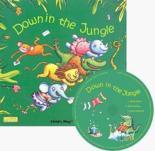 Down in the Jungle (Classic Books with Holes): Elisa Squillace