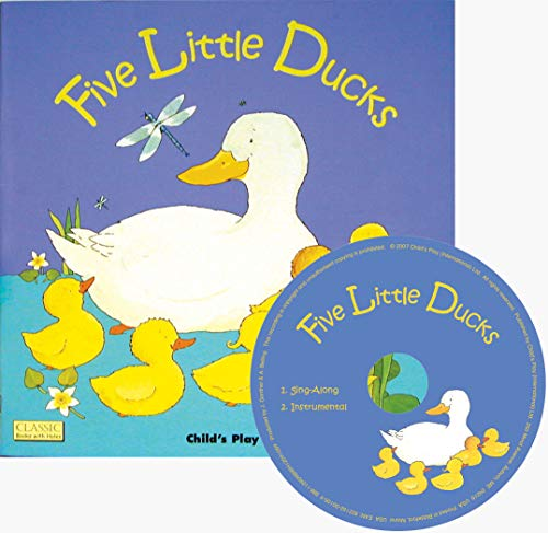 9781846431371: Five Little Ducks (Classic Books with Holes 8x8 with CD)