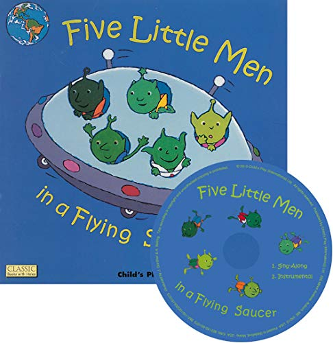 9781846431388: Five Little Men In A Flying Saucer (Classic Books with Holes)