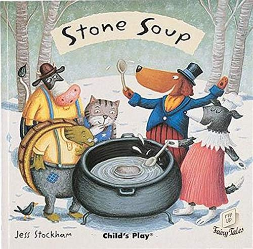 9781846431500: Stone Soup (Flip-Up Fairy Tales)