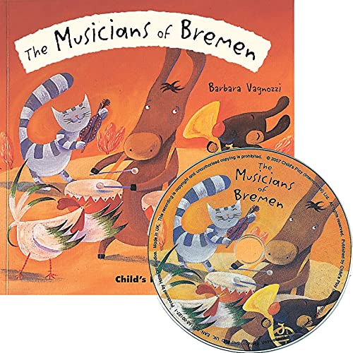 9781846431562: The Musicians of Bremen [With CD] (Flip Up Fairy Tales)
