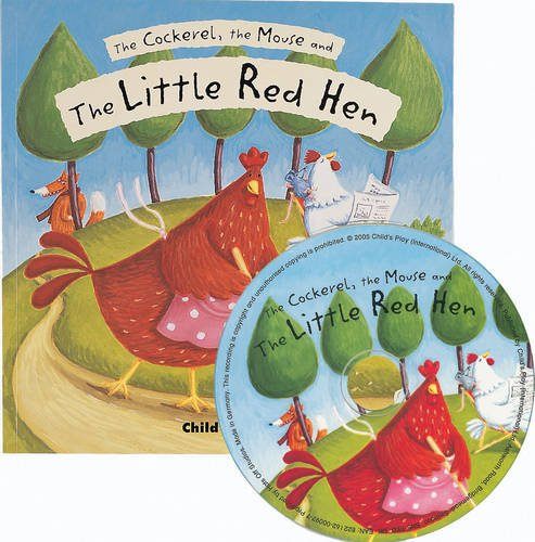 9781846432224: The Cockerel, the Mouse and the Little Red Hen (Flip-Up Fairy Tales)