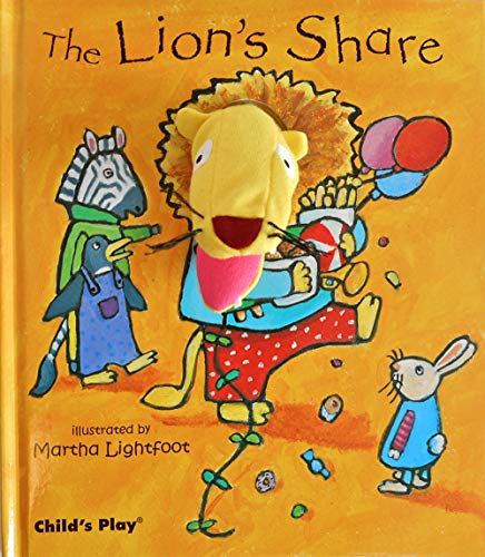9781846432484: The Lion's Share [With Finger Puppet] (Activity Books) (Finger Puppet Books)